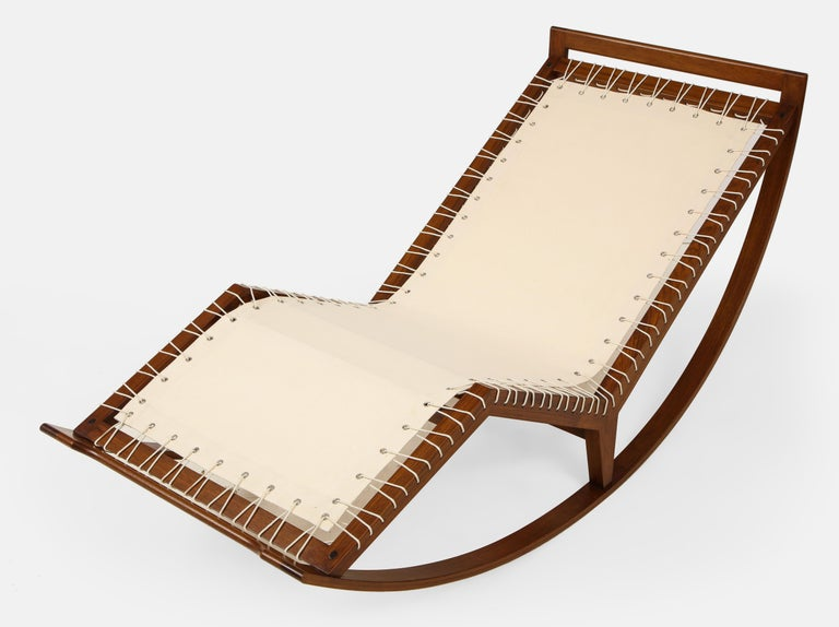 Franco Albini Rocking Chaise Model PS16 For Sale 1