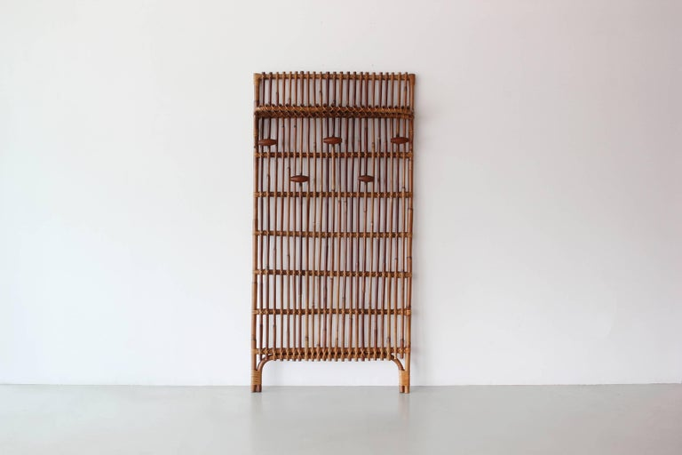 Italian Franco Albini Style Coat Rack For Sale