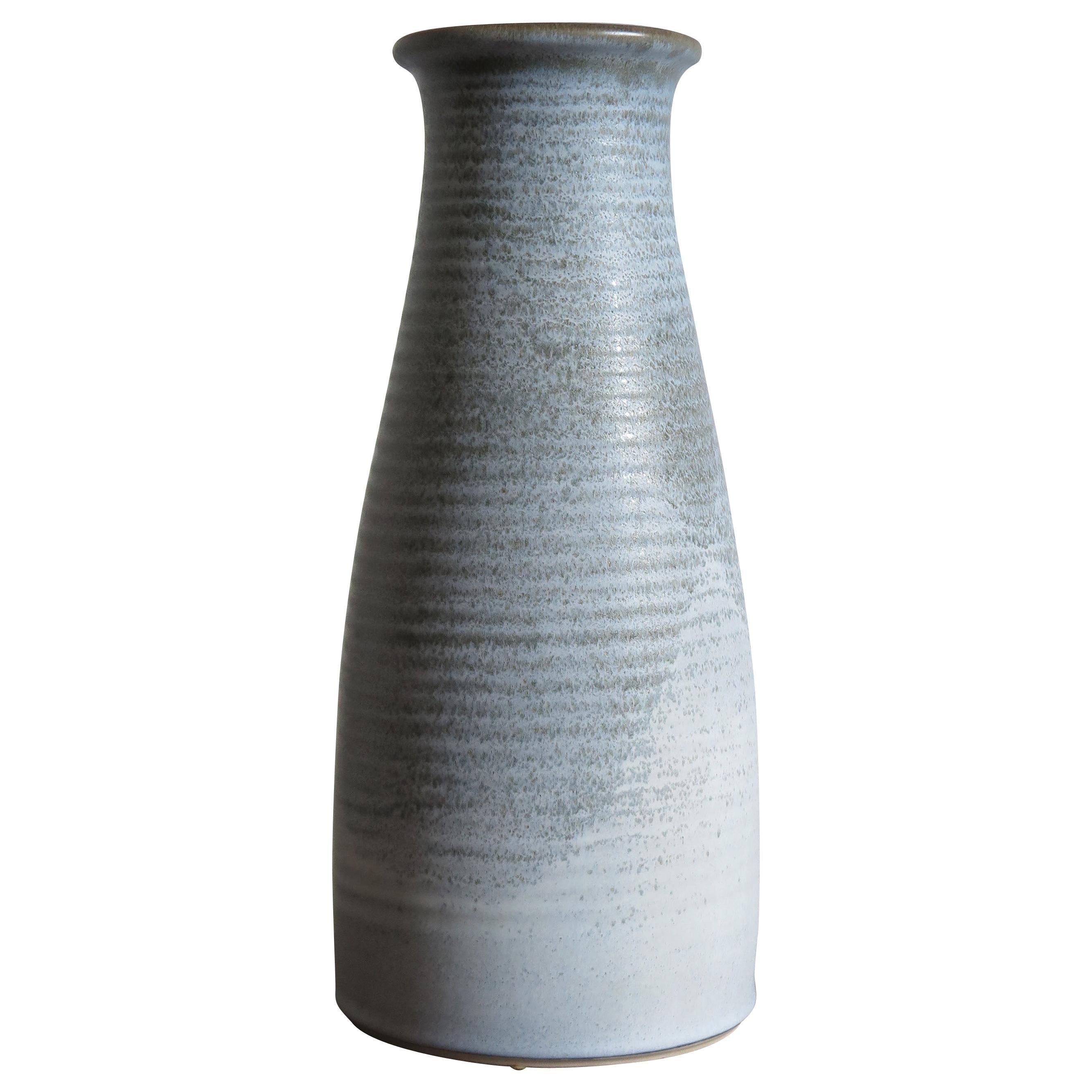 Franco Bucci Italian Mid-Century Modern Gres Pottery Big Vase, 1970s