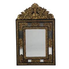 Franco Flemish Repousse Mirror