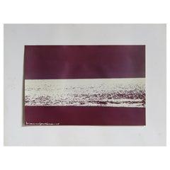 "Franco Fontana Italian Print Vintage Photo ""Adriatico"" 1975"