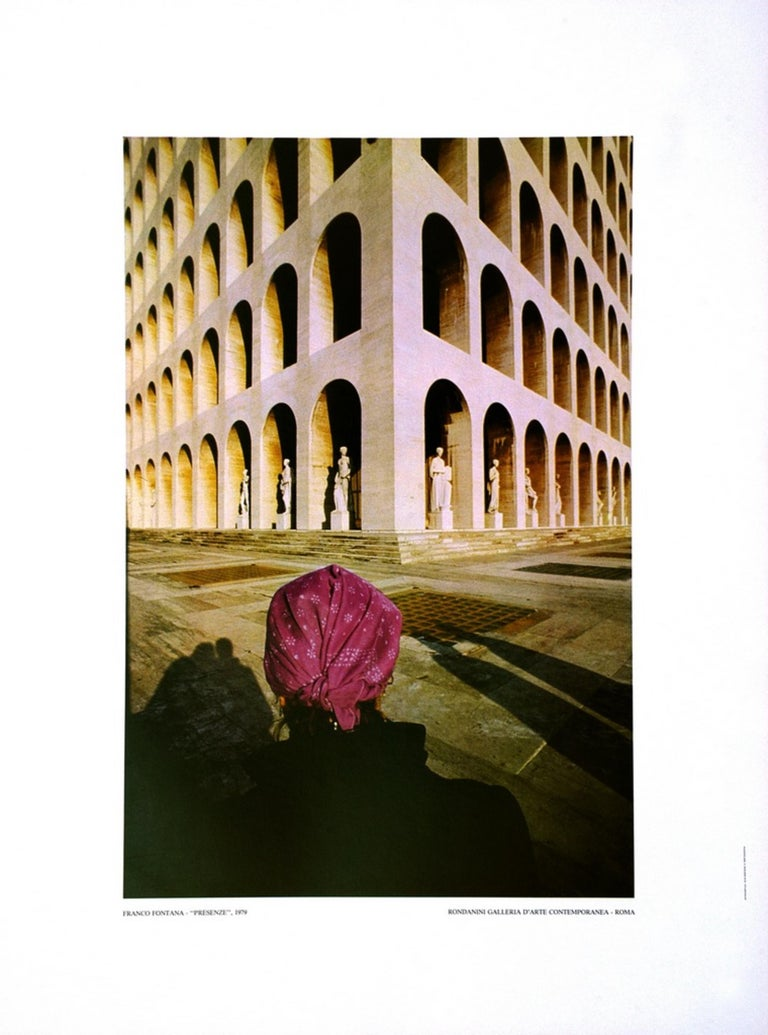 EUR - Vintage Poster After Franco Fontana - 1979 - Photograph by Franco Fontana