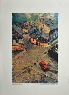 Prague - Vintage Poster After Franco Fontana - 1967