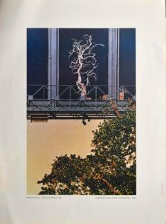 Urban Landscape - Vintage Poster After Franco Fontana - 1980s