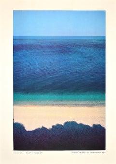Baia delle Zagare - Vintage Offset Print After Franco Fontana - 1970