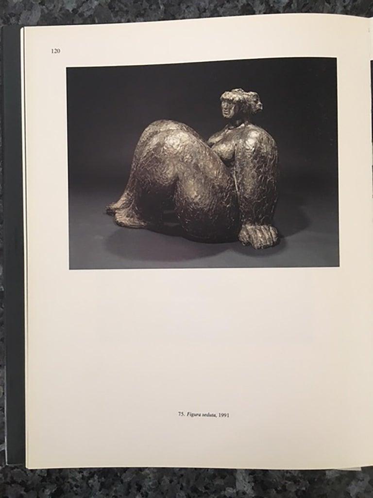 Figura Seduta - Sculpture by Franco Franchi