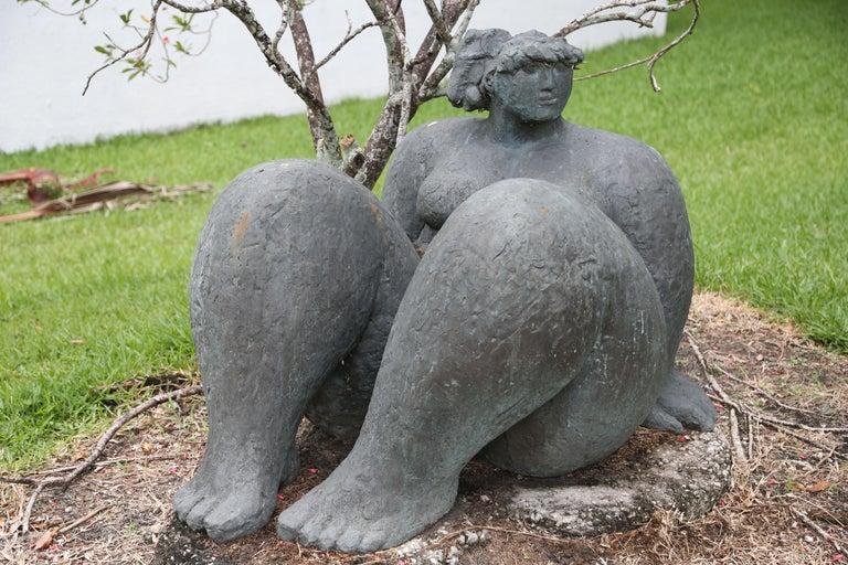 Figura Seduta - Contemporary Sculpture by Franco Franchi