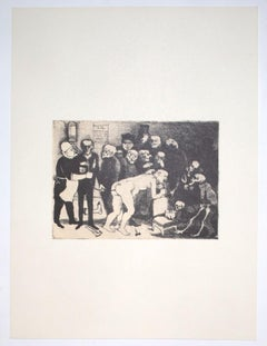 Despair - Vintage Offset Print by Franco Gentilini - 20th Century