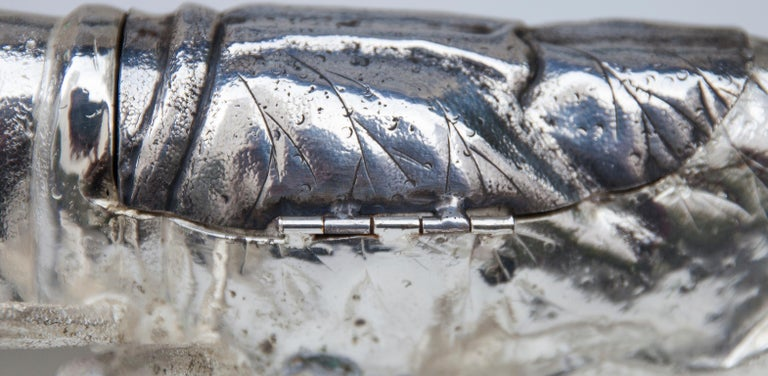 Franco Lapini Silver Plated Lobster, Italy, 1970 For Sale 3