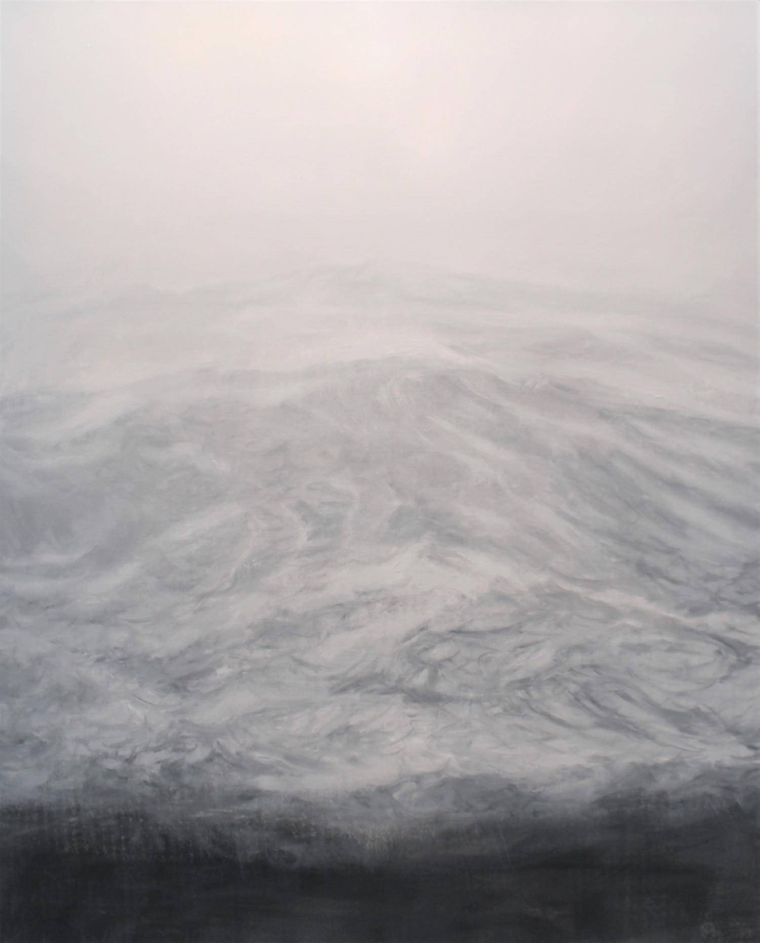 The Secret by F. S. Borquez - Contemporary Oil Painting, Seascape, Ocean waves