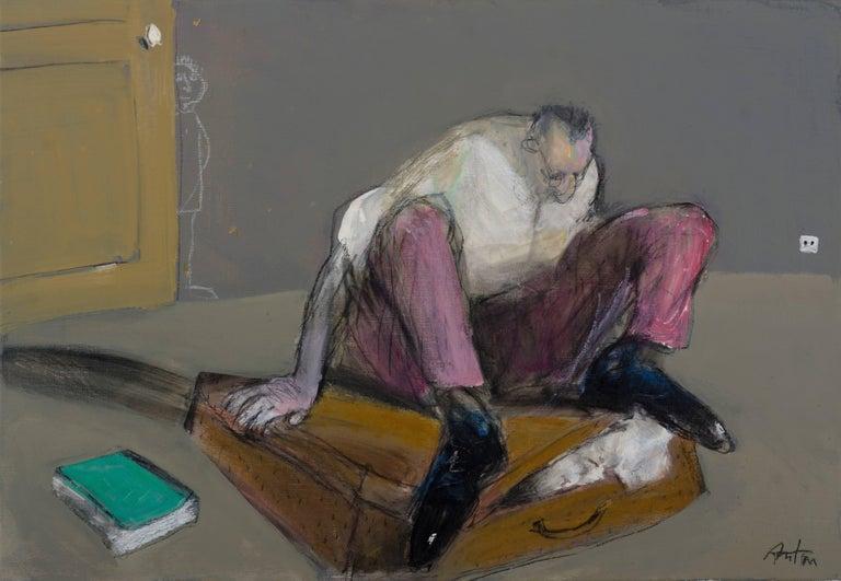 Francois Anton Figurative Painting - Une place pour bartleby