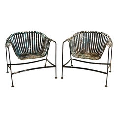 Francois Carre Inspired French Garden Chairs by Woodard