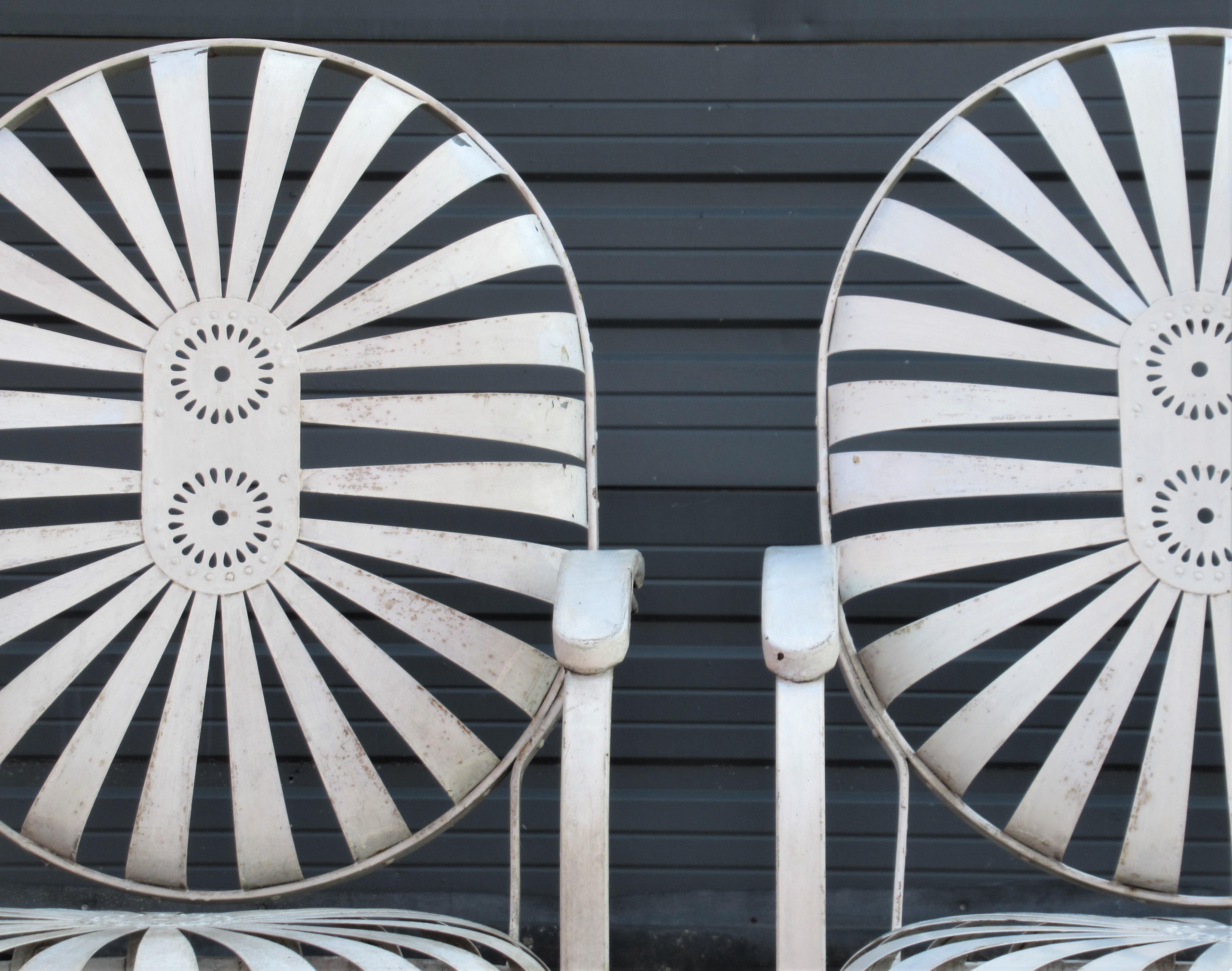 New Spokes Carre Chair Slats Sunburst Pinwheel chair