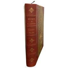 François Coppée, Oeuvres Complètes, Poésie 1864-1887 Paris, F. De Myrbach