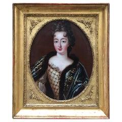François De Troy, Portrait De La Princesse Marie-Anne De Bourbon