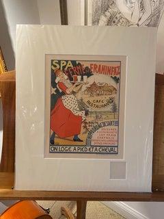 """""""Hippodrome des Art"""", Maitre de l'affiche lithograph"""