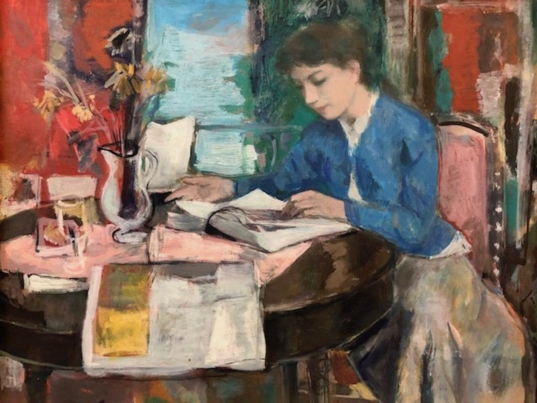 Francois Gall (1912-1987)   François Gall was a Hungarian-born French painter best known for his Impressionistic style. Primarily focused on the figure, his brushy oil paintings are largely inspired by the Impressionist masters, Edgar Degas in