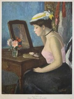"""""""Jeune Femme A La Toilette"""" Print After François Gall"""