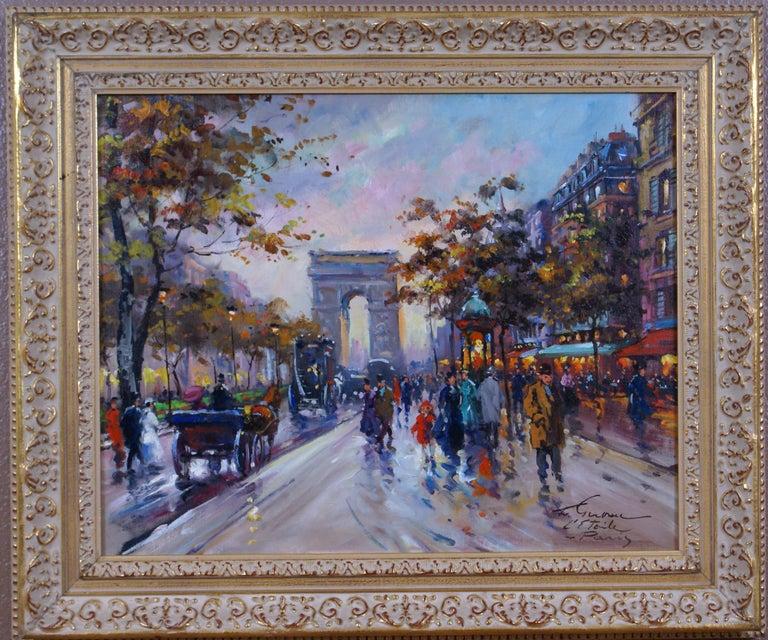 Francois Gerome Landscape Painting - L'Étoile - Paris