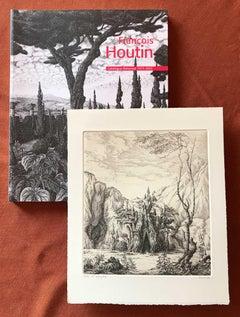 Francois Houtin Catalogue Raisonne,  with print 1er Nymphée