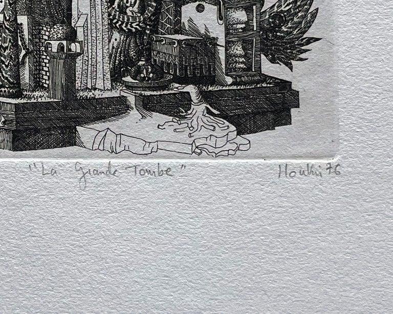 La Grande Tambe (the Big Drums) - Contemporary Print by François Houtin