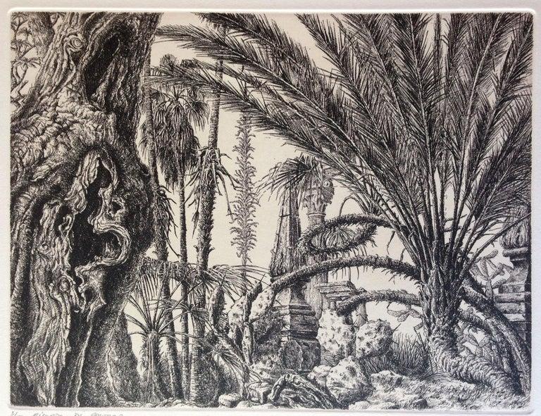 François Houtin Landscape Print - Ricordo di Palermo