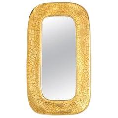 François Lembo Mirror, Ceramic Gold