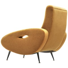 Francois Letourneur Reupholstered Lounge Chair