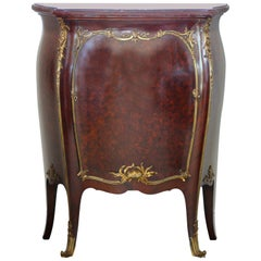François Linke a Louis XV Style Ormolu Mounted Kingwood and Parquetry