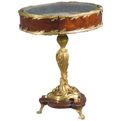 Francois Linke Attributed Bronze Petite Jewelry Vitrine Display Table C1880s