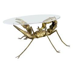 Francois Melin Brutalist Scorpion Table, 1970