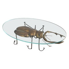 Francois Melin Stag Beetle Table, 1970