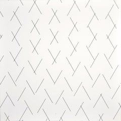 Intersecting Lines - Plate 3 - Original Screen Print by François Morellet - 1975