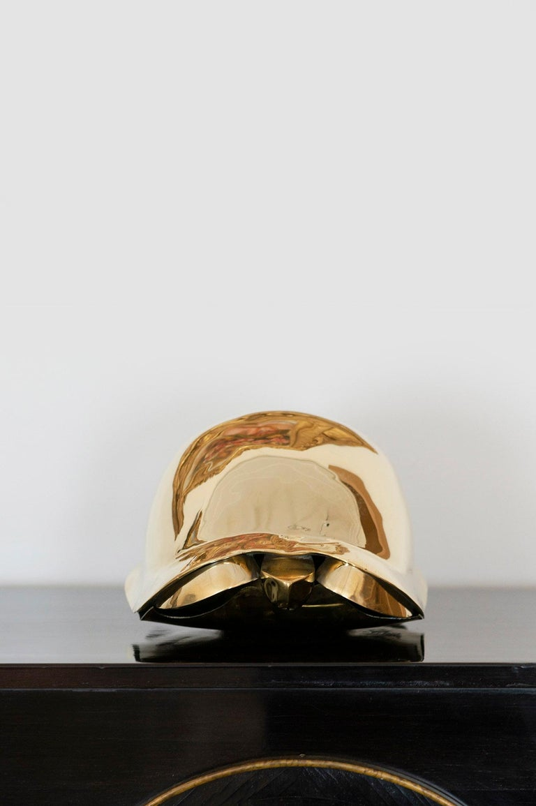 Tortue, Turtle, Lalanne, Sculpture, Design, 1970's, Brass, French Art, Gold For Sale 2