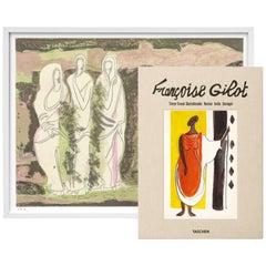 Françoise Gilot, Art Edition No. 61–120 'Indian Soul'