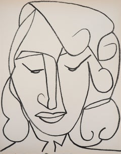 Portrait of a Woman, 1951 - Original lithograph