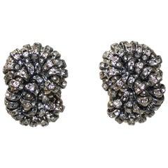 Francoise Montague Double Knot Crystal Clip