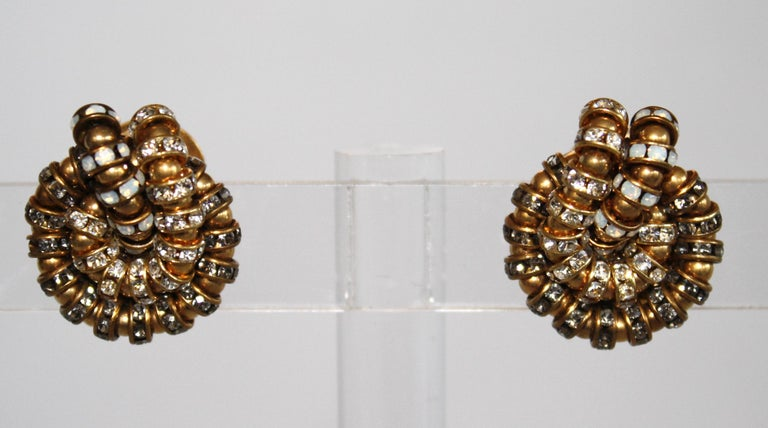 Modern Françoise Montague Knot Clip Earrings  For Sale