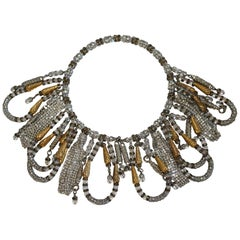 Francoise Montague Memory Wire Statement Necklace
