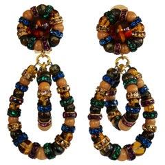 Françoise Montague Multi Color Lolita Earrings