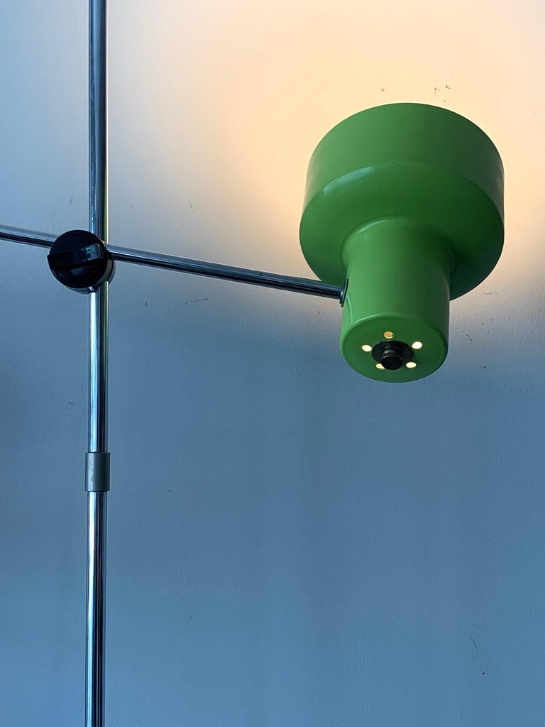 Mid-Century Modern Frandsen Danish Floor Lamp, circa 1970s For Sale