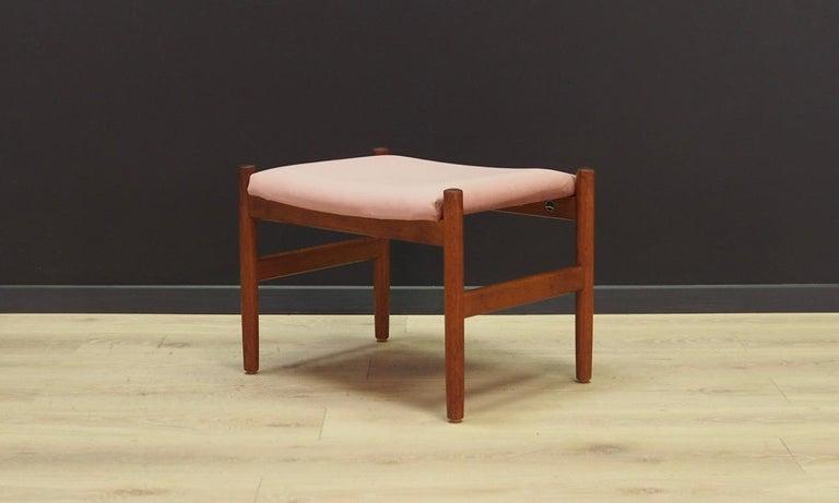 Mid-Century Modern Frandsen Footrest 1960-1970 Vintage For Sale