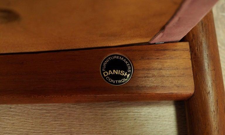 Fabric Frandsen Footrest 1960-1970 Vintage For Sale