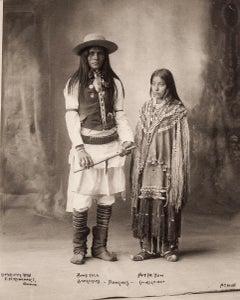 Apaches - Bony Yela, San Carlos, Hattie Tom, Chiricahua, 1898