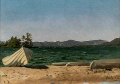 Lake George, July 21, 1867 by Frank Anderson (1844-1891, American)