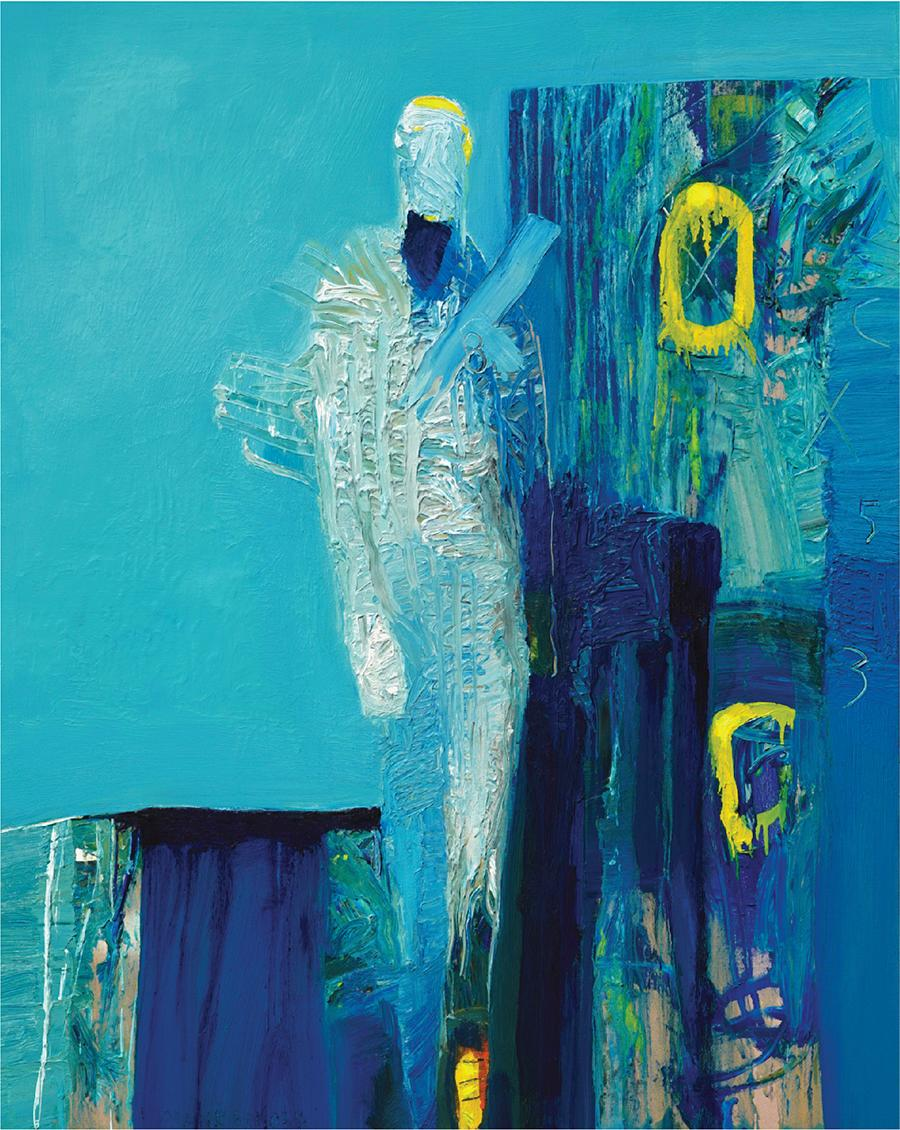 """Print of """"O Azul X"""" Edition of 250 by Frank Arnold"""