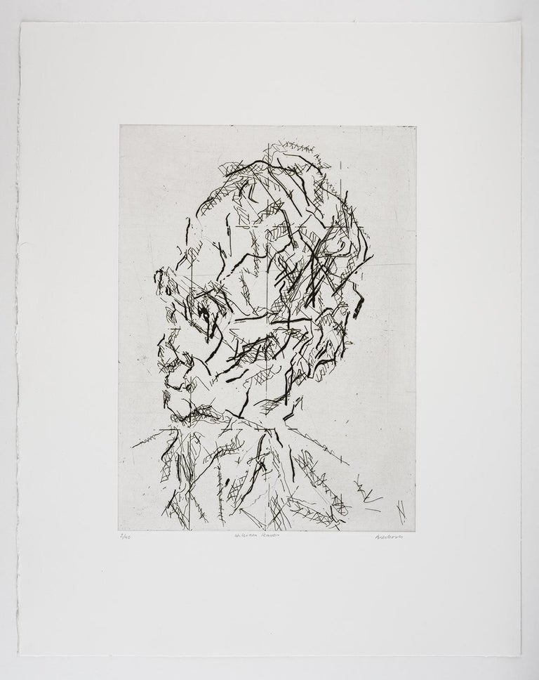 William Feaver: A limited edition print by Frank Auerbach For Sale 4
