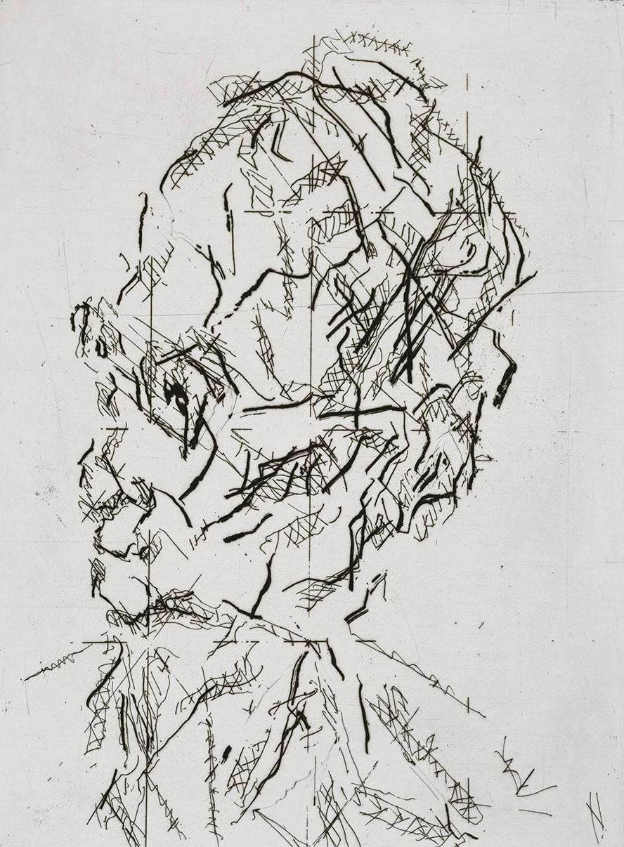 William Feaver: A limited edition print by Frank Auerbach