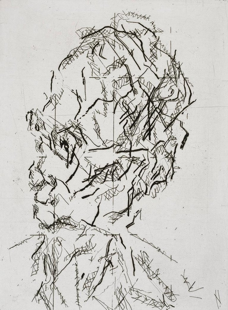 Etching and engraving, on Somerset wove paper, 2007, signed and titled in pencil, numbered 2/40 (there were also ten artist's proofs), published by Marlborough Graphics Ltd., London, 63 x 50 cm sheet size and 40 x 29 cm image (plate) size.  This is