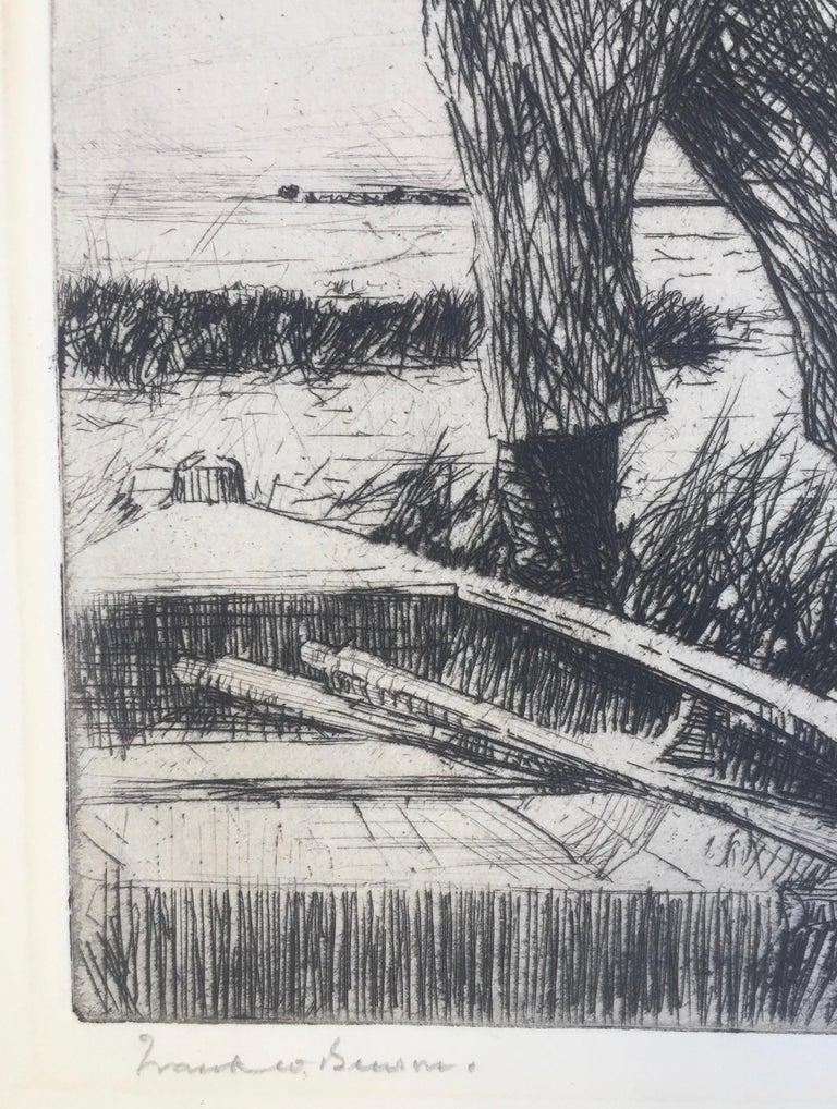 WINTER WILDFOWLING - Print by Frank Benson